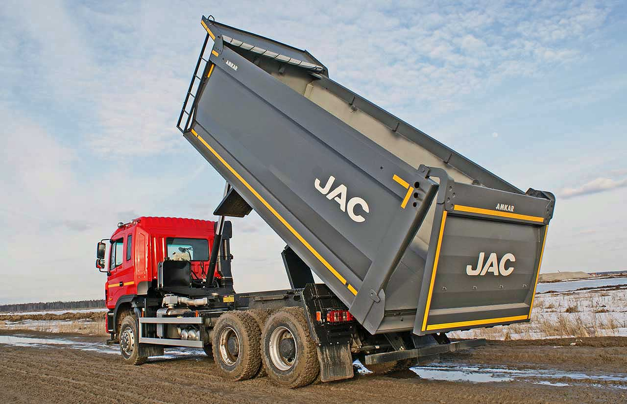 JAC N350 6х4