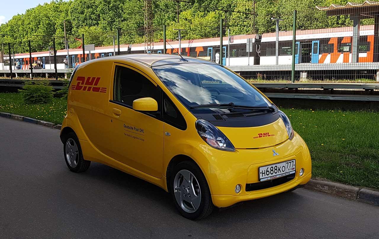 Коммерческий электромобиль