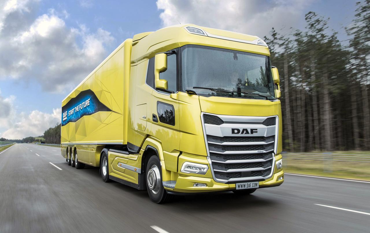 Новые грузовики DAF
