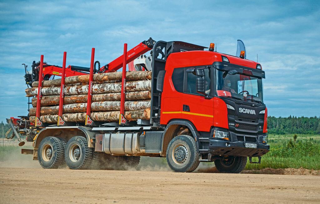 Тяжелые грузовики Scania