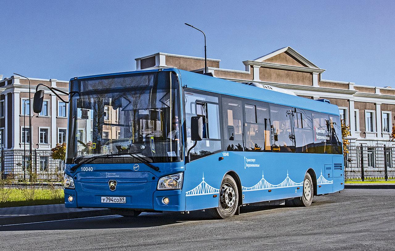 Автобус ЛиАЗ с АКП