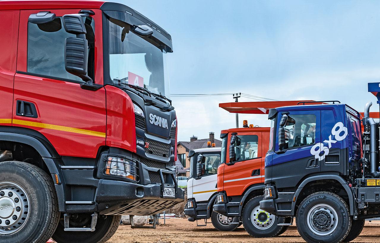Scania поколения ХТ