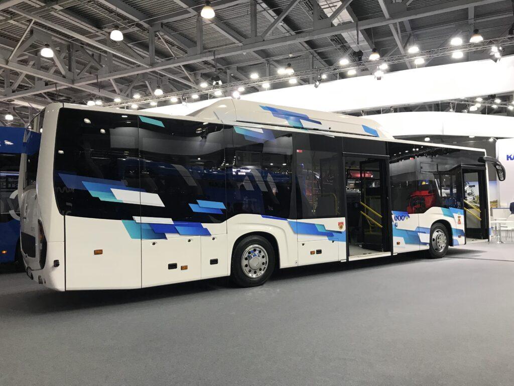 Пригородный автобус НЕФАЗ